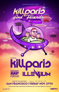 Kill Paris and Friends